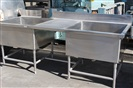 Stainless Steel Washing Table 8' x 3'