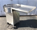 "Perry 30"" Stainless steel accumulation table"
