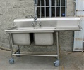 Advance Tabco Stainless Steel Washing Sink, Model 94-22-40-24R