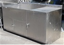 "Stainless Steel Washing Table 74"" x 32"""
